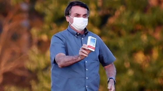 Bolsonaro tiene infección pulmonar tras el Covid-19