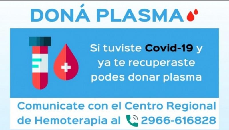 Salud convoca a potenciales donantes de plasma