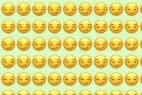 """""""¿Podés encontrar el emoji distinto?"""": el reto que te sacará la sonrisa de la cara"""