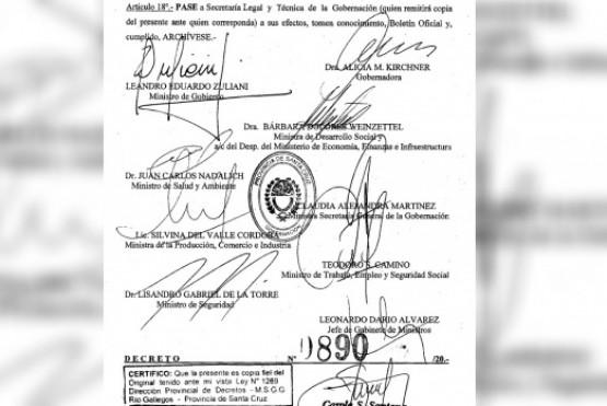 El Decreto consta de 18 artículos, uno de forma. Su ámbito de aplicación es la ciudad de Río Gallegos y zonas de influencia.