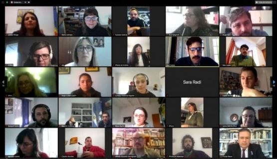 Juegos Culturales Evita: Santa Cruz participó del encuentro federal para ultimar detalles