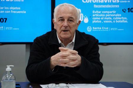 """Nadalich: """"El Calafate tiene un caso positivo de coronavirus y Río Turbio cuatro"""""""