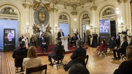 El Presidente defendió la reforma judicial