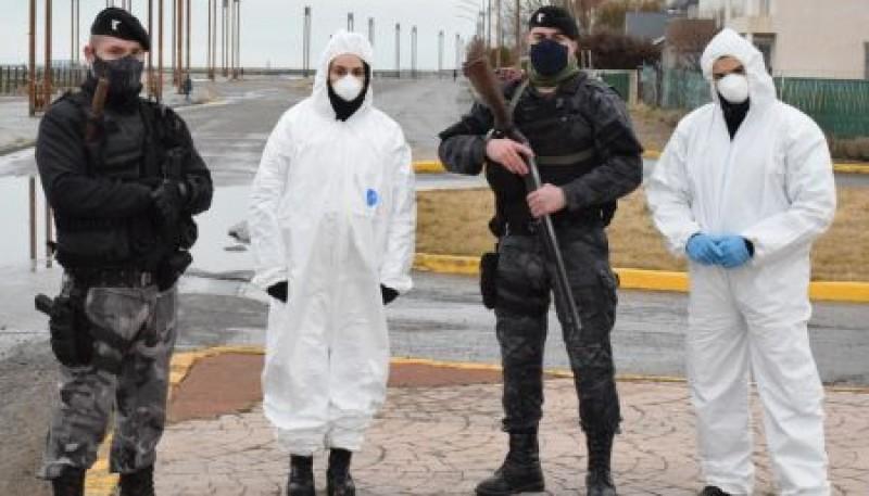 Policía colabora en la operatividad del Puesto Fijo de Detección