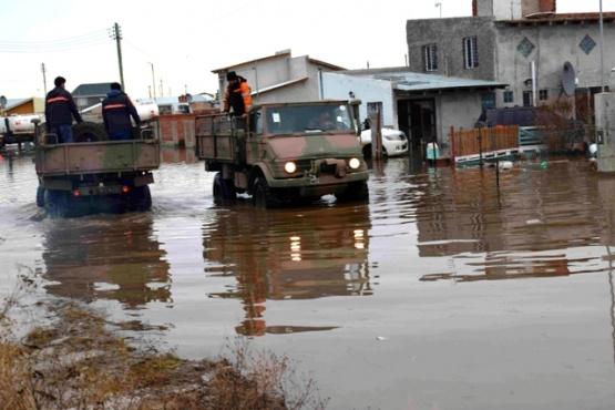 Varios sectores quedaron bajo el agua.