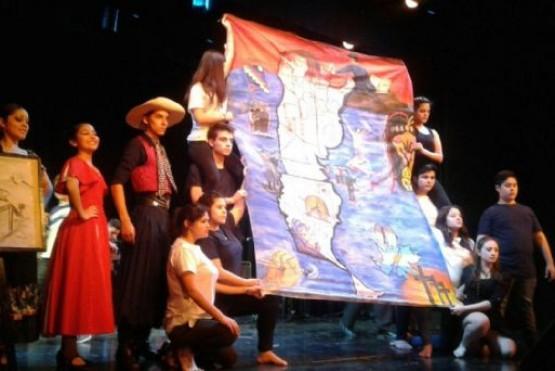 Santa Cruz reconocida en los Evita Culturales 2017. (archivo)