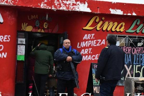 En el lugar se realizaron las pericias del caso con Criminalística. (Foto: La Vanguardia Noticias)