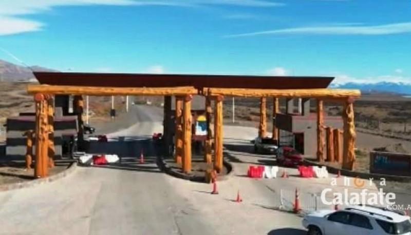 Portal de acceso a El Calafate.