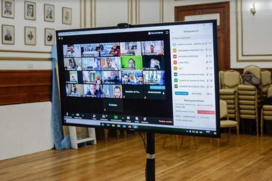 Videoconferencia (foto archivo).