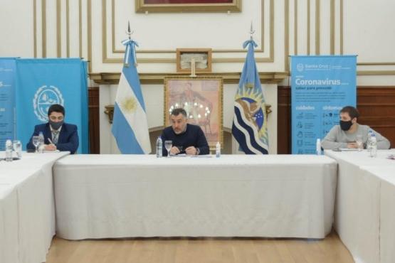 Ministros participaron de una nueva reunión del COE Provincial