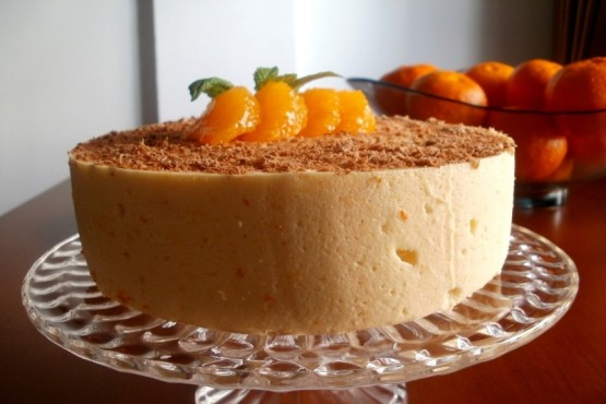 Cómo hacer mousse de mandarina