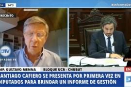 """Menna remarcó que """"Nación tiene falta de compromiso con Chubut"""""""