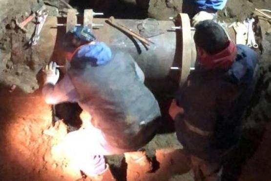 Río Gallegos sin agua: SPSE sigue trabajando en el acueducto