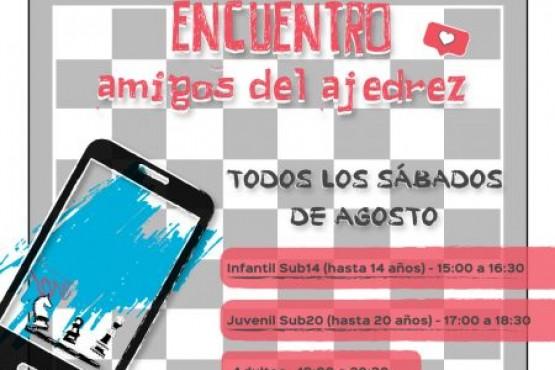 """""""Amigos del Ajedrez"""": En agosto podrás aprender, jugar y compartir"""