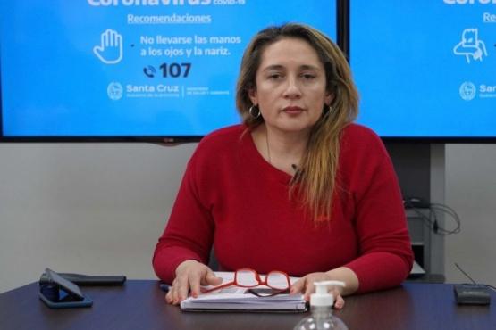 Epidemiológa Ana Cabrera