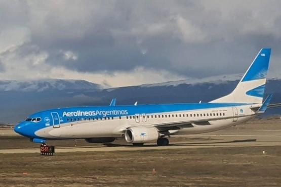 Gobierno provincial pidió a Aerolíneas reducir vuelos a Ushuaia