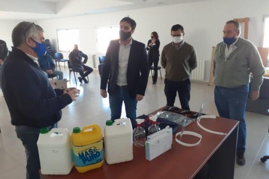El equipo sanitario de Chubut recibió insumos de prevención de la COVID-19