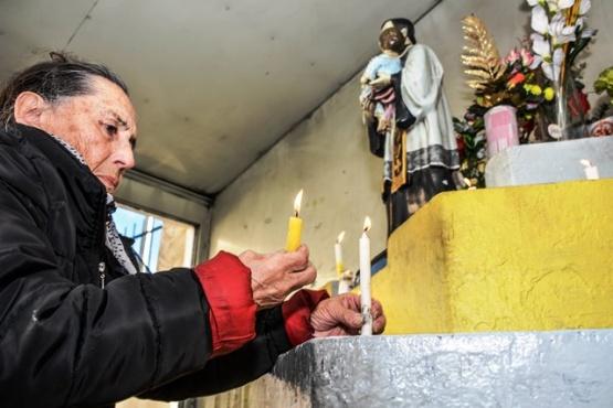 San Cayetano, patrono del pan y el trabajo.