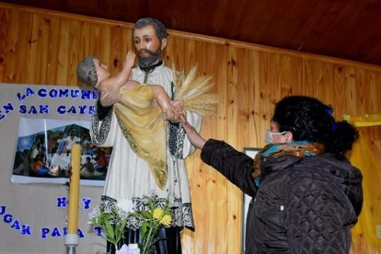En Caleta las misas por San Cayetano se transmitirán en redes y TV