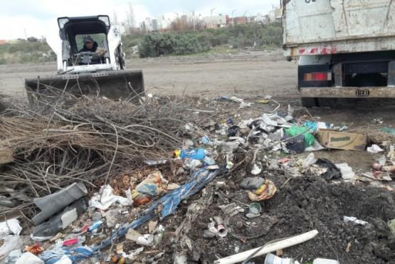 El Municipio erradicó más de 2.500 toneladas de residuos en lo que va del año