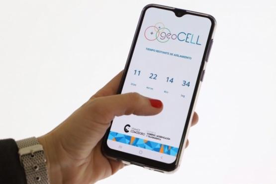 Aplicación GeoCell.