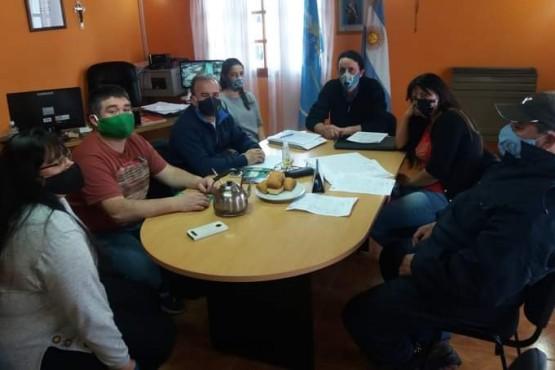 Municipio y ATE se reunieron para tratar el Convenio Colectivo de Trabajo