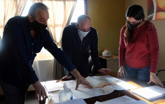 Destacaron la importancia de la planta de captación de agua para Río Turbio