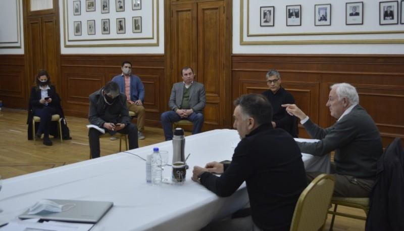 """Chávez: """"El dialogo es una práctica habitual entre el Gabinete Provincial y el Poder Legislativo"""""""