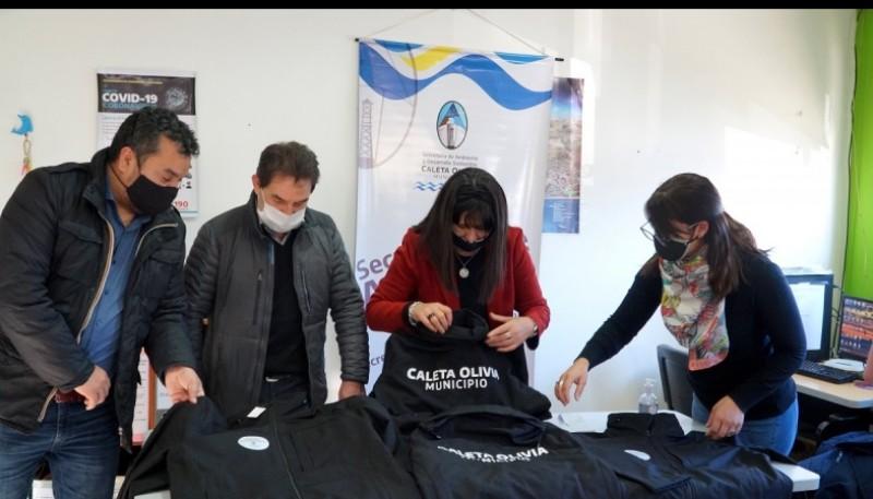 El Municipio entregó nueva indumentaria a la Secretaría de Ambiente