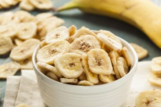 Chips de banana: deliciosos y con sólo tres ingredientes