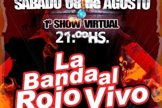 La Banda al Rojo Vivo realizará un recital virtual a beneficio del Hogar de Ancianos