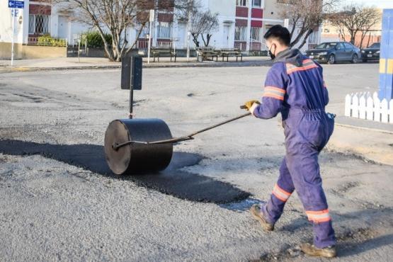 Municipio inició una nueva etapa del Plan Integral de Bacheo