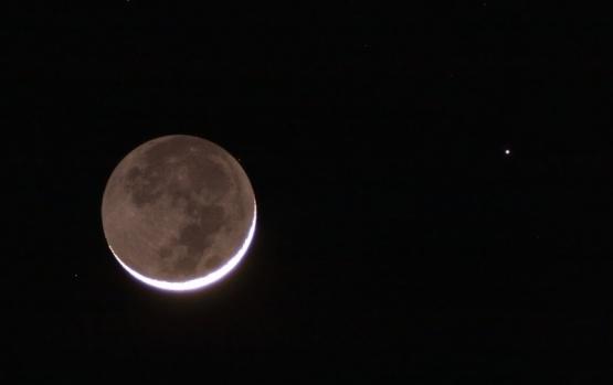 Conjunción de la Luna y Marte: cómo ver este fenómeno desde Argentina