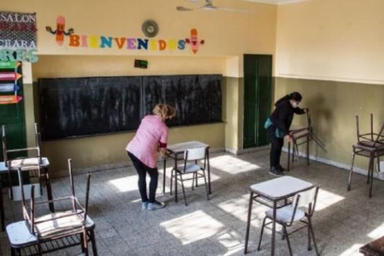 El lunes vuelven a clases presenciales 10.500 alumnos
