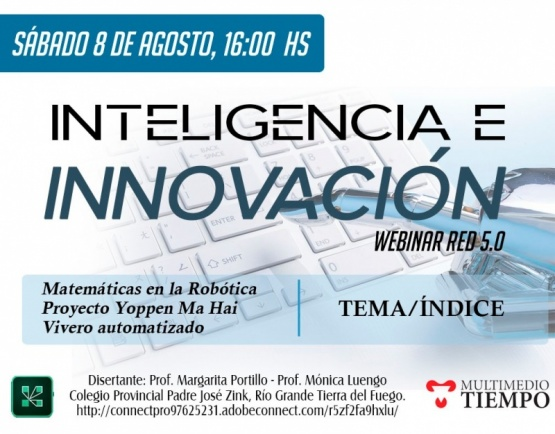 Inteligencia e innovación webinar 5.0
