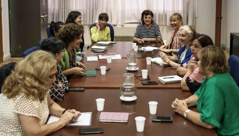 Reunión de gestión del Ministerio de Mujeres