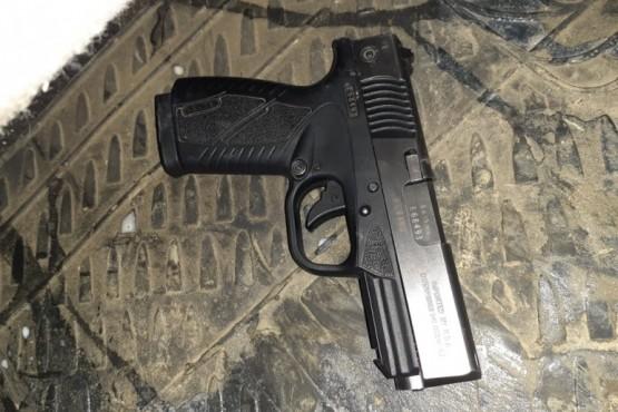 Aprehendido por portar un arma de fuego