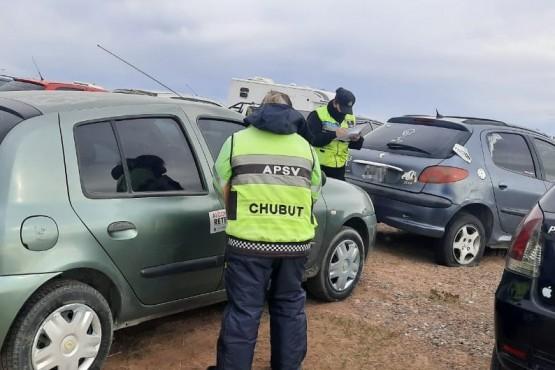 La APSV controló más de 9 mil vehículos durante el fin de semana