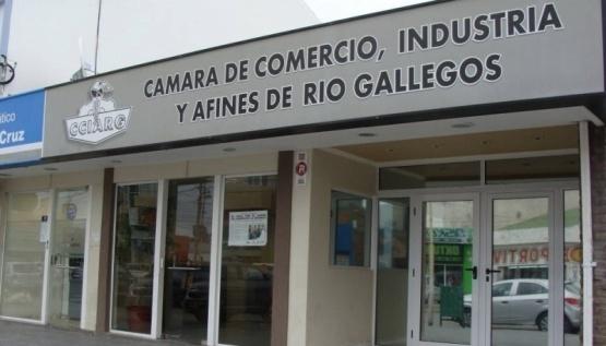 Cámara de comercio, industria y afines de Río Gallegos.