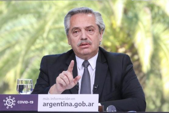 """Alberto Fernández: """"Queremos una sociedad con más respeto por la diversidad"""""""