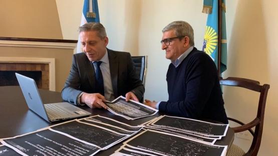 Arcioni presentó al ENACOM el Plan Provincial de Telecomunicaciones 2020-2030
