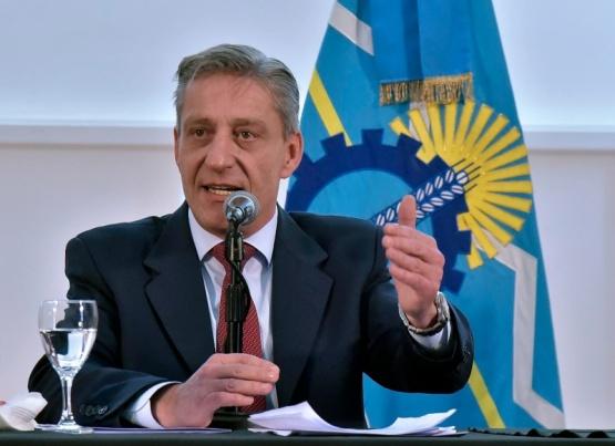 Los reembolsos a las exportaciones fue una de las propuestas que realizó Arcioni