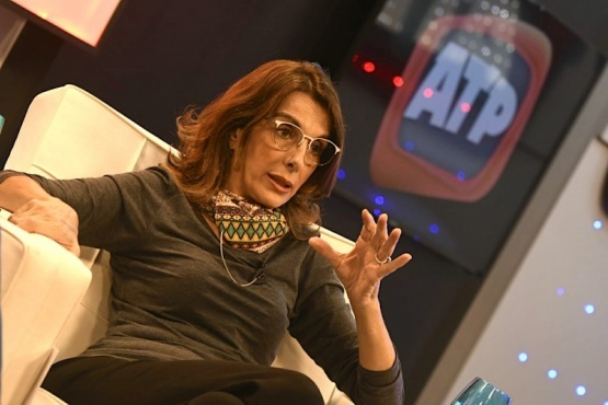 ministra de Desarrollo Territorial y Hábitat, María Eugenia Bielsa.