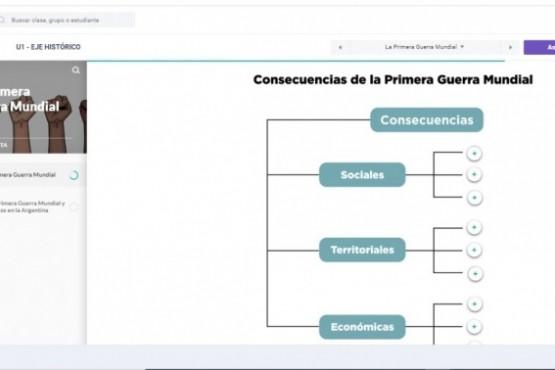 Educación presentó una biblioteca digital de contenidos para docentes de Secundaria