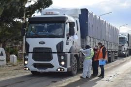 Hasta 700 camiones por día son controlados en la Unidad Operativa Ramón Santos