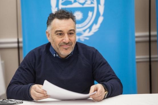 El jefe de Gabinete, Leonardo Álvarez