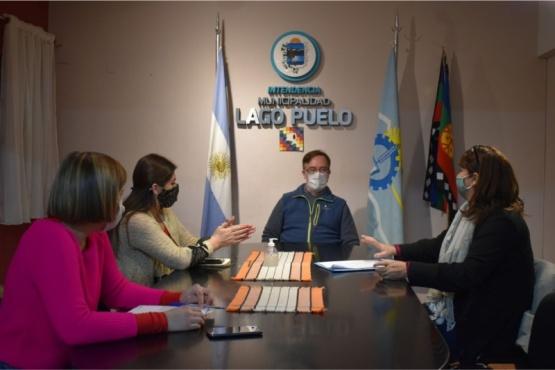 El intendente Sánchez se reunió con la coordinadora de Juntas Vecinales