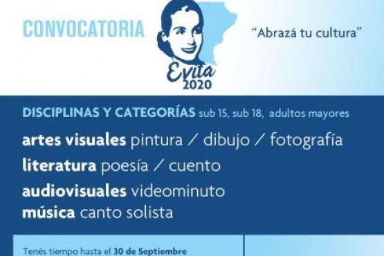 Juegos Culturales Evita Santa Cruz 2020: Convocatoria abierta hasta el 30 de septiembre