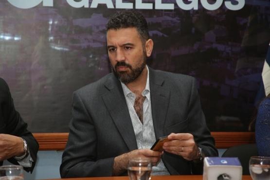 Diego Robles, secretario de Hacienda del Municipio.