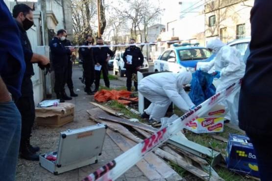 Encontraron el cuerpo de una mujer de 100 años en bolsas de residuos